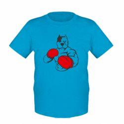 Детская футболка Pitbull Boxing Logo