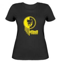 Женская футболка Pitbull loco