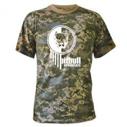 Камуфляжная футболка Pitbull loco