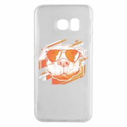 Чехол для Samsung S6 EDGE Pitbull Summer
