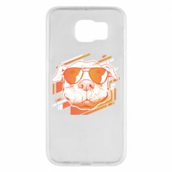 Чехол для Samsung S6 Pitbull Summer