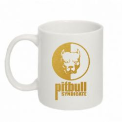 Кружка 320ml Pitbull Syndicate Gold - FatLine