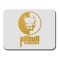 Коврик для мыши Pitbull Syndicate Gold - FatLine