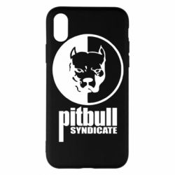 Наклейка Pitbull Syndicate - FatLine