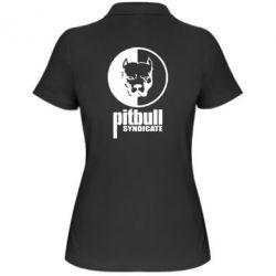 Женская футболка поло Pitbull Syndicate - FatLine