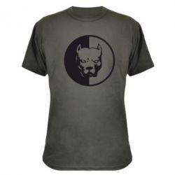 Камуфляжная футболка Pitbull - FatLine