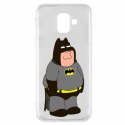 Купить Batman, Чехол для Samsung A6 2018 Питер Гриффин Бэтмен, FatLine