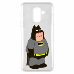 Купить Batman, Чехол для Samsung A6+ 2018 Питер Гриффин Бэтмен, FatLine