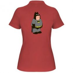 Женская футболка поло Питер Гриффин Бэтмен - FatLine