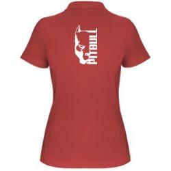 Женская футболка поло Pitbull