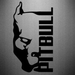 Наклейка Pitbull