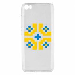 Чехол для Xiaomi Mi5/Mi5 Pro Pixel pattern blue and yellow