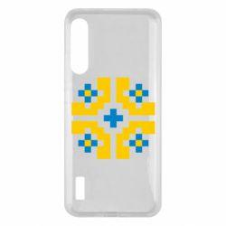 Чохол для Xiaomi Mi A3 Pixel pattern blue and yellow