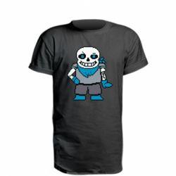 Подовжена футболка Pixel Sans