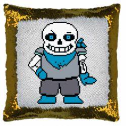 Подушка-хамелеон Pixel Sans