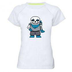 Жіноча спортивна футболка Pixel Sans