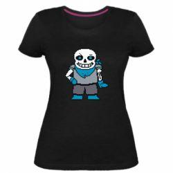 Жіноча стрейчева футболка Pixel Sans