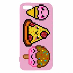 Чохол для iphone 5/5S/SE Pixel sweets