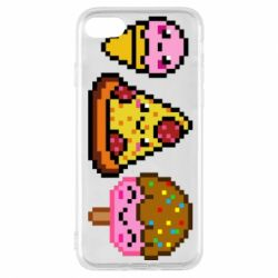 Чохол для iPhone 7 Pixel sweets