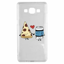 Чохол для Samsung A5 2015 Pizza and beer
