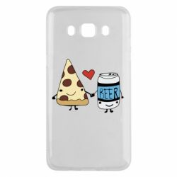 Чохол для Samsung J5 2016 Pizza and beer