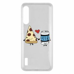 Чохол для Xiaomi Mi A3 Pizza and beer