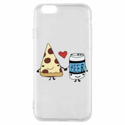 Чохол для iPhone 6/6S Pizza and beer