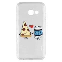 Чохол для Samsung A3 2017 Pizza and beer