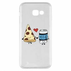Чохол для Samsung A5 2017 Pizza and beer
