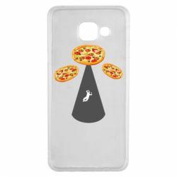 Чохол для Samsung A3 2016 Pizza UFO