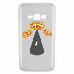 Чохол для Samsung J1 2016 Pizza UFO