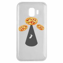 Чохол для Samsung J2 2018 Pizza UFO