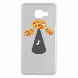 Чохол для Samsung A7 2016 Pizza UFO