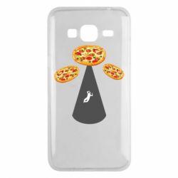Чохол для Samsung J3 2016 Pizza UFO