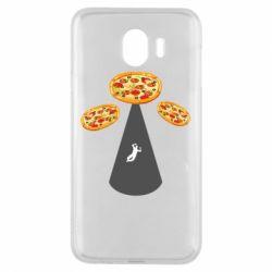 Чохол для Samsung J4 Pizza UFO