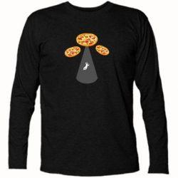 Футболка з довгим рукавом Pizza UFO