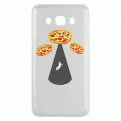 Чохол для Samsung J5 2016 Pizza UFO