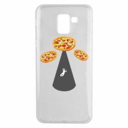 Чохол для Samsung J6 Pizza UFO