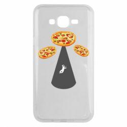 Чохол для Samsung J7 2015 Pizza UFO
