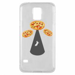 Чохол для Samsung S5 Pizza UFO