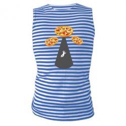 Майка-тільняшка Pizza UFO