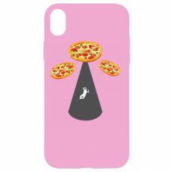 Чохол для iPhone XR Pizza UFO