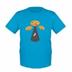 Дитяча футболка Pizza UFO