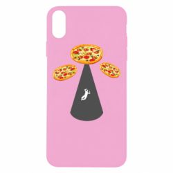 Чохол для iPhone Xs Max Pizza UFO