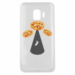 Чохол для Samsung J2 Core Pizza UFO