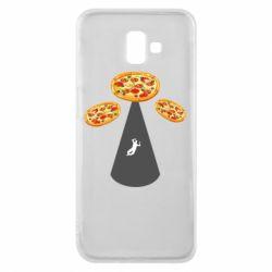 Чохол для Samsung J6 Plus 2018 Pizza UFO