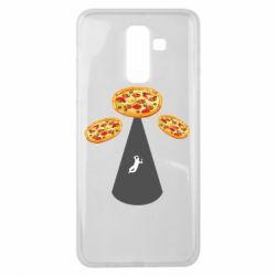 Чохол для Samsung J8 2018 Pizza UFO