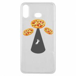 Чохол для Samsung A6s Pizza UFO