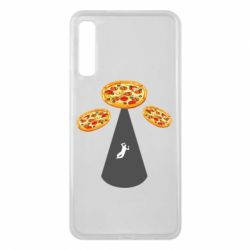 Чохол для Samsung A7 2018 Pizza UFO