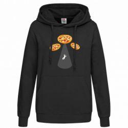 Толстовка жіноча Pizza UFO